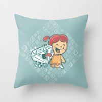 Best Friends Are Forever Throw Pillow