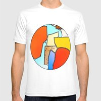 Terrene 1 Mens Fitted Tee White SMALL
