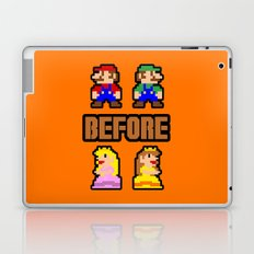 Super Mario Bros Before Hoes Laptop & iPad Skin