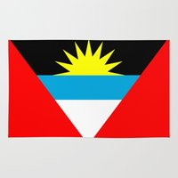 Antigua and Barbuda country flag Rug