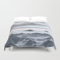Frozen Arctic Sea Duvet Cover