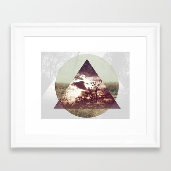 Perception Nature Framed Art Print