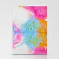 Cotton Candy  Stationery Cards