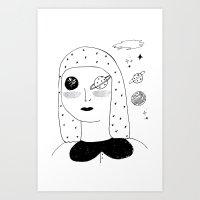 Lunar Sea Art Print