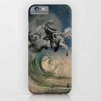 iPhone Cases featuring riders on the storm by Rosa Picnic