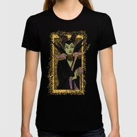 The Dark Faerie Womens Fitted Tee Black SMALL