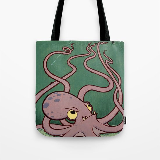 Evil Octopus Tote Bag