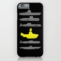 iPhone Cases featuring Know Your Submarines by Resistance