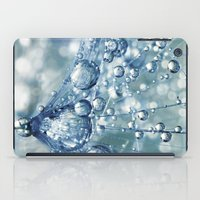 Sparkling Dandy In Blue iPad Case