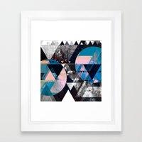 Graphic 4 Z Framed Art Print