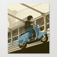 East River Crossing Canvas Print