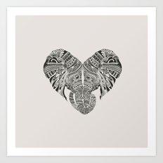 Huge Heart Art Print