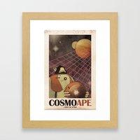 CosmoApe Framed Art Print