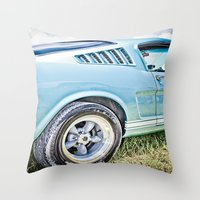 1966 Ford Mustang Fastba… Throw Pillow