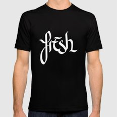 fresh Mens Fitted Tee Black SMALL