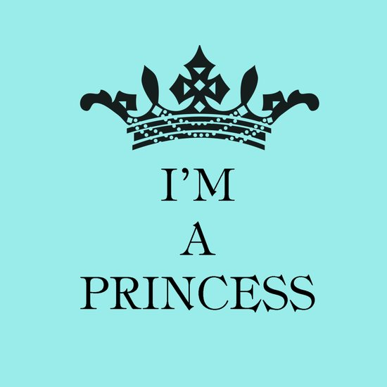 I'm a princess Art Print