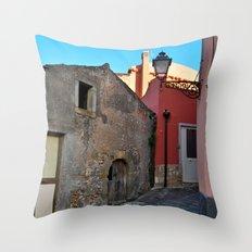 Sicilian Medieval Villag… Throw Pillow