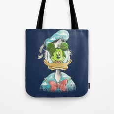 duck magritte Tote Bag