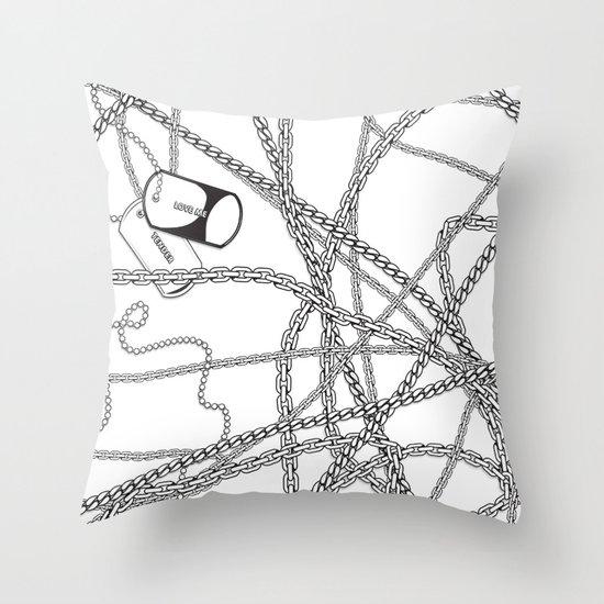 TENDER LOVE Throw Pillow