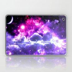 Galaxy Clouds Fuchsia Pink Purple Laptop & iPad Skin