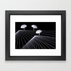 rope dance Framed Art Print
