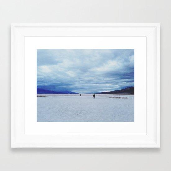 Badwater Basin Framed Art Print