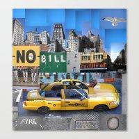 Essence Of New York Canvas Print