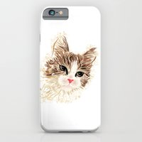 iPhone Cases featuring Cat by MaNia Creations