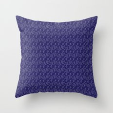 Anchor Pattern 1 Throw Pillow