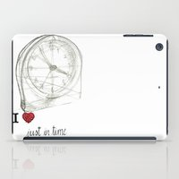 Just In Time iPad Case
