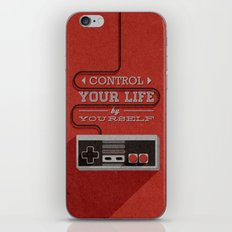 Control Your Life By You… iPhone & iPod Skin