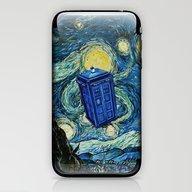 Tardis Dr. Who Starry Ni… iPhone & iPod Skin