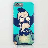 iPhone & iPod Case featuring ZOMBIE KRUSTY by Troy Spino