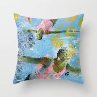 VACANCY zine - Illusion sentimentale Throw Pillow