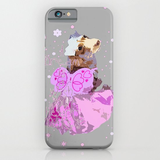 """Phairy Princess"" ~ Dachshund, Weiner Dog, Doxie, everywhere! iPhone & iPod Case"