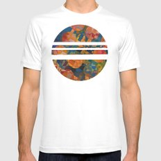 Her 12 Moons SMALL White Mens Fitted Tee