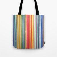 STRIPES 9 Tote Bag