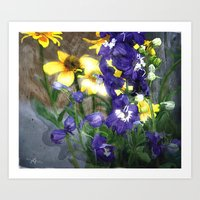 Wildflowers / Nature, Fl… Art Print