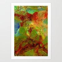 Dreamlike landscape Art Print