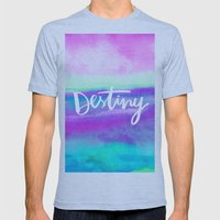 Destiny [Collaboration W… Mens Fitted Tee Athletic Blue SMALL