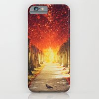 iPhone & iPod Case featuring Autumn paradise. by Julia Dávila-Lampe