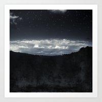dark world Art Print