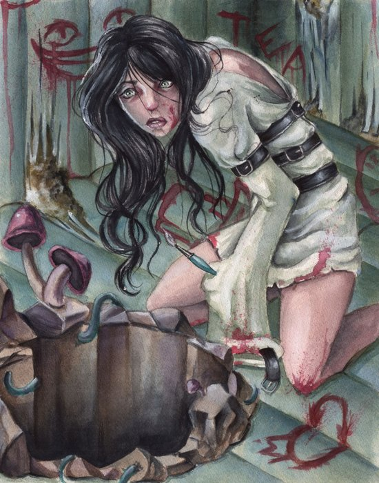 Torture of Wonderland  Art Print