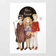 the trio Art Print