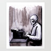 One Of Those On Whom Nothing Is Lost Art Print