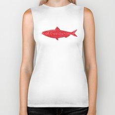 Swedish Fish Biker Tank