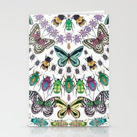 Beetles, Bugs And Butter… Stationery Cards