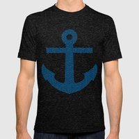 Ankr Mens Fitted Tee Tri-Black SMALL