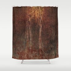 A thing with no name Shower Curtain