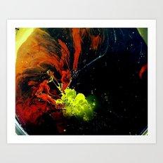 DEBT Art Print